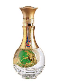 晶白酒瓶-010